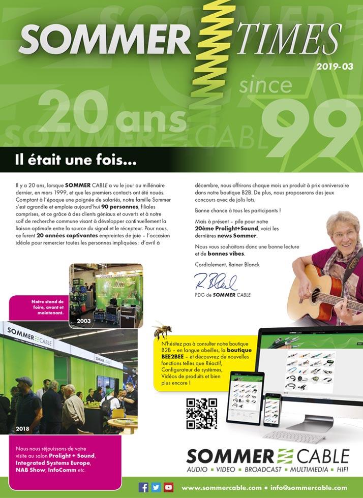 News Flyer Digital Sommer Cable